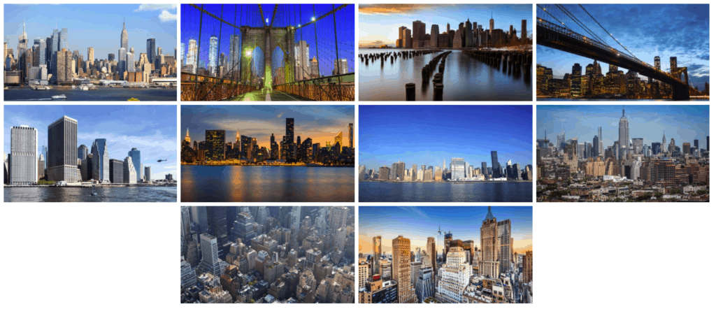 Photo Gallery by 10Web default layout
