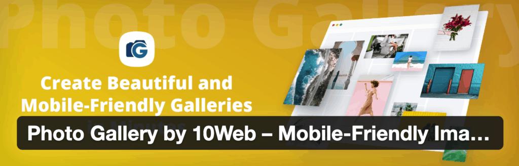 Photo Gallery by 10Web Plugin for WordPress