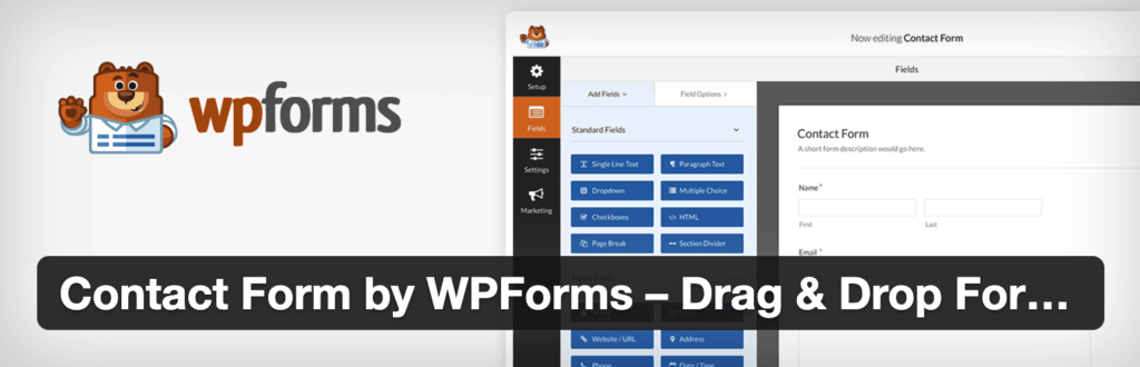 Contact Form by WPForms