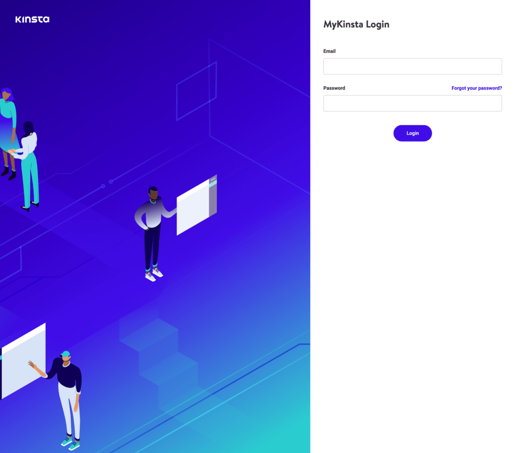 Kinsta: Add a new website Step 1