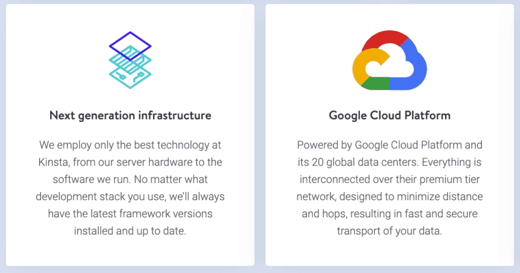 Kinsta: Google Cloud and next generation infrastructure