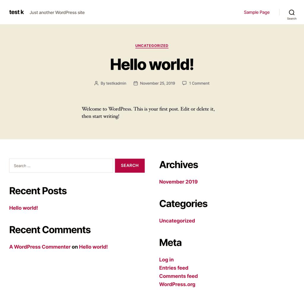 Kinsta: Add a new website: Site complete!