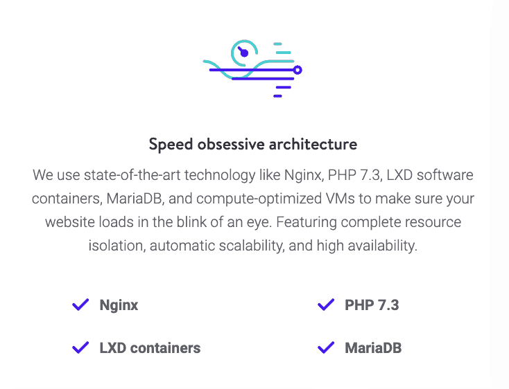 Kinsta: Speed obsessive architecture